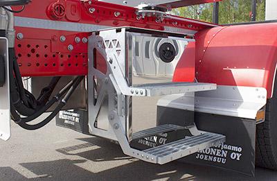riiko puutavara-auton päällirakenne työkalulaatikko